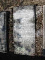 Gravestone 328, Hunt's Bay Jewish Cemetery (Last Name: DaCosta Alvarenga)