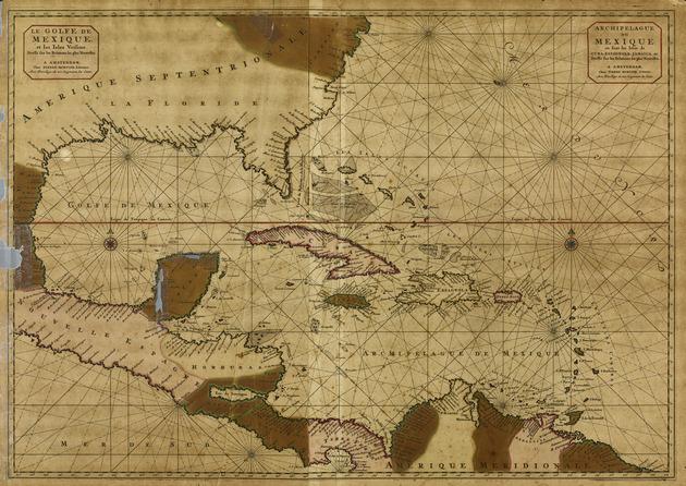 Le Golfe de Mexique et les isles voisine ; Archipelague du Mexique, ou sont les isles de Cuba, Espagnola, Jamaica, &c