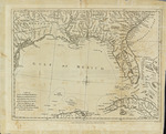 A map of East and West Florida, Georgia, and Louisiana
