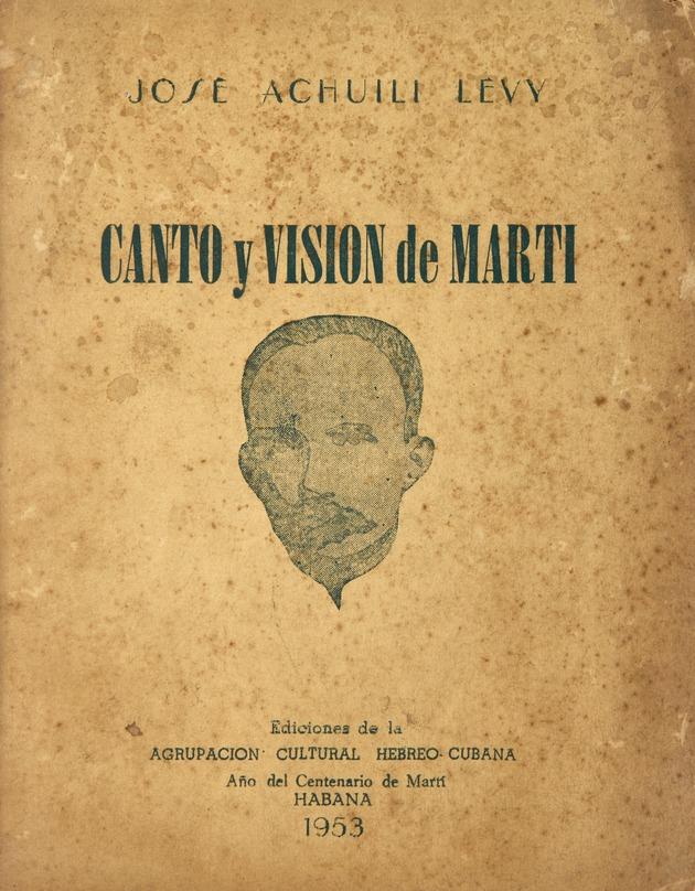 Canto y Visión de Martí - Page 1