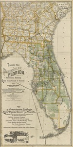 Township map of peninsular Florida