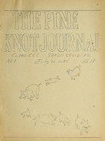 Pine knot journal
