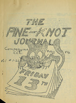 Pine knot journal