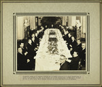 Photograph taken at a lunch held by the Board of Directors of the Pan-American Union in honor of Carlos Salazar, Minister of Foreign Affairs for Guatemala