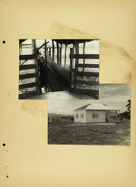 Photograph of house frame
