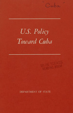 U.S. policy toward Cuba