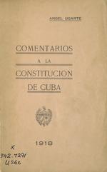 Comentarios a la constitución de Cuba