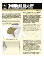 Southern review of legislative & regulatory actions