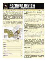 Northern review of legislative & regulatory actions