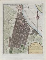 Plan de la ville de Paramaribo