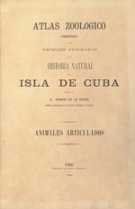 Atlas zoológico comprensivo de las especies figuradas en la Historia natural de la isla de Cuba