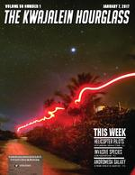 The Kwajalein hourglass
