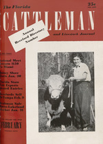 fea4c0eb64 The Florida cattleman and livestock journal