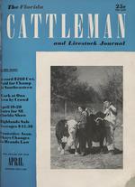 The Florida cattleman and livestock journal