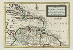 A map of Terra Firma, Guiana, and the Antilles Islands