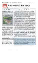 Clean Water Act news