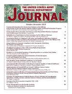 U S  Army Medical Department journal
