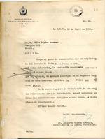 Carta del Gobierno Provincial de la Habana en abril