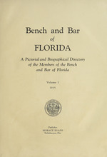 Bench and bar of Florida