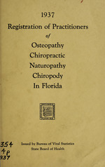 Registration of practitioners of medicine in Florida