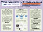 Virtual Experiences For Dyslexia Awareness