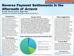 Reverse Payment Settlements In The Midst Of Actavis