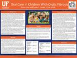 Oral Care In Children With Cystic Fibrosis