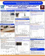 Improving Electrodynamic Dust Shield Efficiency For Solar Energy Applications
