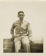 Photograph of Henri Landwirth in uniform