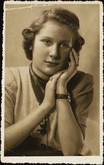 Photograph of Margot Glazer, Henri Landwirth's twin sister