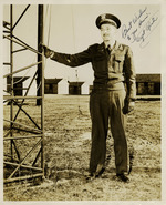 "Photograph of Captain Bryant E. Richardson, ""Captain Rich"" dedicated to Henri Landwirth"