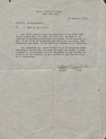 Letter of recommendation for Henri Landwirth