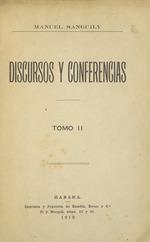 Discursos y conferencias