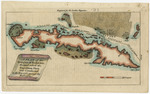 A plan of the straights of the Bahama through which the expedition fleet was conducted in the year 1762 against Havana