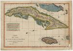 Cartes des Isles de Cuba et de la Jamaïque