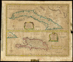 A new & accurate map of the island of Cuba with a new & accurate map of the islands of Hispaniola or St Domingo and Porto Rico