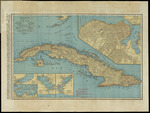 Rand McNally standard map of Cuba
