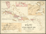 Goff's historical map of the Spanish American War in the West Indies, 1898