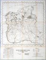 Map showing locations of temporary field works erected by the Spanish for the land defense of Havana, 1897-1898