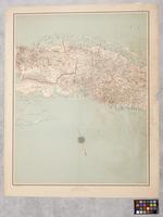 Map of Matanzas and Santa Clara