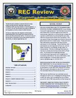 REC review of legislative & regulatory actions