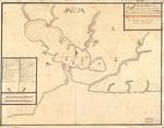 Plano de el Puerto de Jagua situado en la costa de el sur de la ya. de la Havana en la latd. de 21 gs. 51 ms. N. y en 294 gs. 54 ms. de longd. segun Tenerife