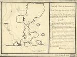 Plano de la bahía de Guantánamo en la ysla de Cuva, cuya boca se halla en latd. N. de 20 gros. y longd. de Tenerife 30l. gs. 27 ms. ...
