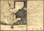 Plano de la Baía de Guantánamo, en la ysla de Cuva, cuya boca se alla en latitud N. 20 gs. y en la longitd. de Thenerife 301 gs. 27 ms.