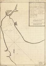 Plano del Puerto de Matanzas situado en la costa del norte de la ysla de Cuba en 23010ʹ de latid. norte y en la 293040ʹ de la longd. segun el meridiano de Thenerife