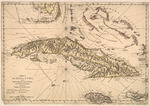 A map of the isle of Cuba