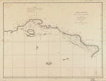Carta esférica de la parte meridional de la ysla de Cuba