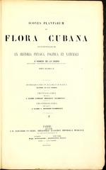 Icones plantarum in flora Cubana descriptarum