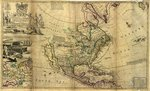 A new map of ye north parts of America claimed by France under ye names of Louisiana, Mississipi, Canada and New France, with the adjoyning territories of England and Spain