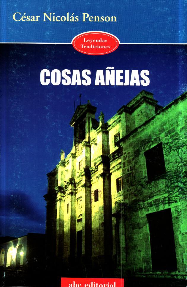 Cosas Añejas - Cover